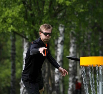 Tomas Rosenqvist (SWE) shot an impressive 1st round, 52 (-7). Photo: Mats Löf.