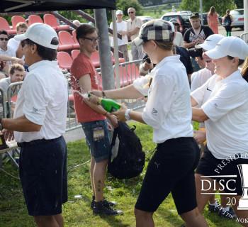 President's Cup 2011 Team USA celebtrating